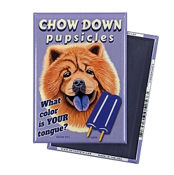 MHP-142  Magnet 4-pack - Chow Down Pupsicles