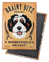 MB-131  Magnet 4-pack - Brainy Ditz