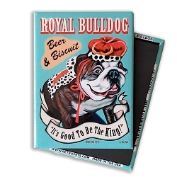 MPB-103  Magnet 4-pack -  Royal Bulldog