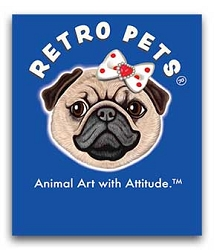 2020 Pug Spinner Header Card fits all Retro Pets spinners