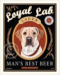 B-100 - 8x10 Art Print - Loyal Lab Lager