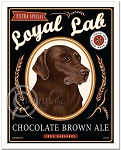 B-103 - 8x10 Art Print - Chocolate Brown Ale