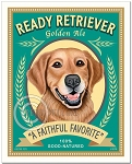 B-109 - 8x10 Art Print - Ready Retriever Ale