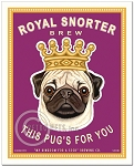 B-110 - 8x10 Art Print - Royal Snorter Brew
