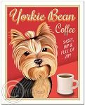 C-115 - 8x10 Art Print - Yorkie Bean Coffee