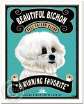 C-116 - 8x10 Art Print - Bichon Coffee