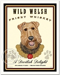 CH-101 - 8x10 Art Print - Welsh Frisky Whiskey