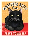 F-107 - 8x10 Art Print - Whatever Kitty