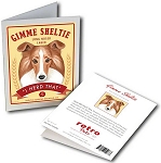 GCB-117  Greeting Card 6-Pack - Gimme Sheltie