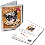 GCC-102  Greeting Card 6-Pack - Puggaccino