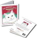 GCF-105  Greeting Card 6-Pack - Insistent Kitty
