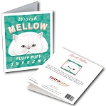 GCF-106  Greeting Card 6-Pack - Marshmellow