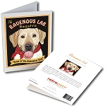 GCHP-124  Greeting Card 6-Pack - Ravenous Lab Yellow