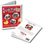 GCHP-130  Greeting Card 6-Pack - Pugtato Chips