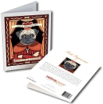 GCP-116  Greeting Card 6-Pack - Saint Pugnacious