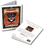 GCP-117  Greeting Card 6-Pack - Rottweiler Saint