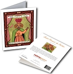 GCP-118  Greeting Card 6-Pack - Saint Francis de Furter