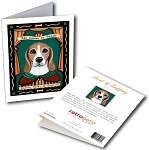 GCP-139  Greeting Card 6-Pack - Beagle Saint