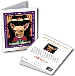 GCP-163  Greeting Card 6-Pack - Chihuahua Saint