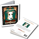 GCP-197  Greeting Card 6-Pack - Greyhound Saint