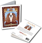 GCP-201  Greeting Card 6-Pack - Cavalier Saint