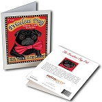 GCPB-102  Greeting Card 6-Pack - Priceless Pug