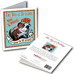 GCPB-103  Greeting Card 6-Pack - Royal Bulldog