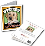 GCPB-104  Greeting Card 6-Pack - Lovable Lab