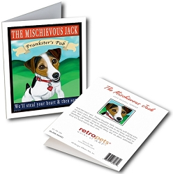 GCPB-106  Greeting Card 6-Pack - Mischievous Jack