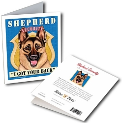 GCSE-101  Greeting Card 6-Pack - Shepherd Security