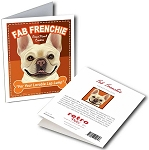 GCT-110  Greeting Card 6-Pack - Fab Frenchie