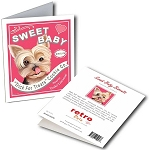 GCT-111  Greeting Card 6-Pack - Sweet Baby