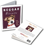 GCT-114  Greeting Card 6-Pack - Beggar Biscuits