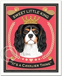 H-105 - 8x10 Art Print - Sweet Little King