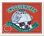 HP-116 - 8x10 Art Print - Snuggle Puppy
