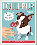 HP-121 - 8x10 Art Print - Lolli-PUP Brown & White