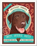 HP-123 - 8x10 Art Print - Chocolate Charmer