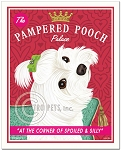 HP-127 - 8x10 Art Print - Pampered Pooch