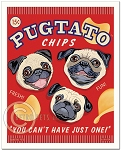 HP-130 - 8x10 Art Print - Pugtato Chips
