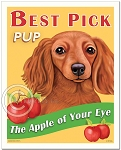 HP-131 - 8x10 Art Print - Best Pick Pup