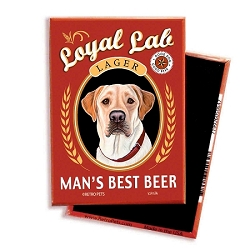 MB-100  Magnet 4-pack - Man's Best Beer