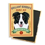 MB-111  Magnet 4-pack - Brilliant Border