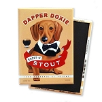 MB-114  Magnet 4-pack - Dapper Doxie