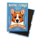 MB-119  Magnet 4-pack - Royal Corgi