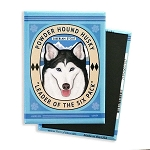 MB-120  Magnet 4-pack - Powder Hound Husky
