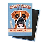 MB-121  Magnet 4-pack - Goofy Boxer