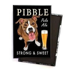 MB-127  Magnet 4-pack - Pibble Pale Ale