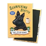 MC-108  Magnet 4-pack - Scampering Scottie