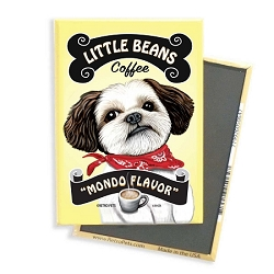 MC-118  Magnet 4-pack - Little Beans Coffee