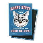 MF-102  Magnet 4-pack - Bossy Kitty